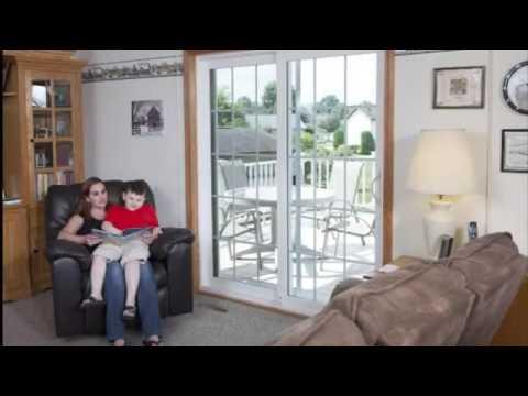 zen dharma sliding patio door demonstration video by soft lite