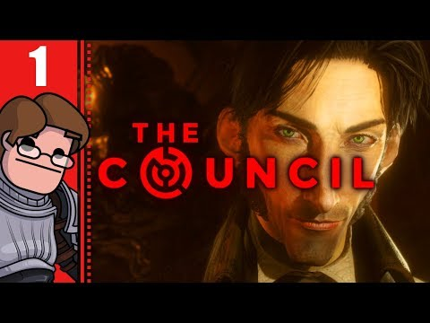 Let's Play The Council Part 1 - A Fresh Take on Adventure Games?