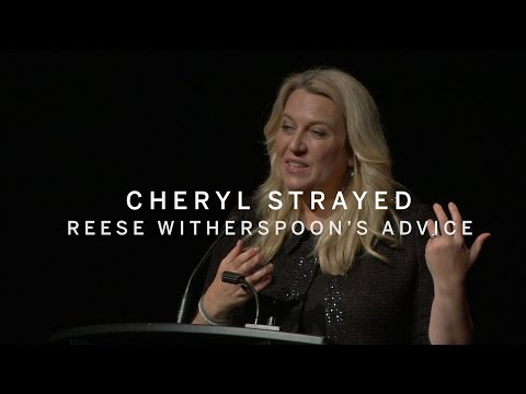 CHERYL STRAYED | Reese Witherspoon's Advice | TIFF 2016