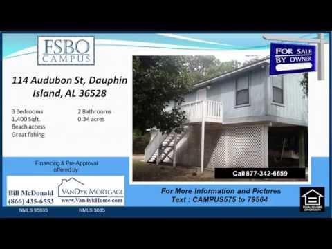 3 bedroom home for sale near Dauphin Island Elementary School in Dauphin Island AL