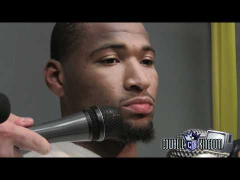 Demarcus Cousins reflects on the 2011-12 season