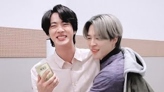 BTS Jin & Jimin Sweet moment part3 | Jinmin Friendship💜
