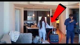 IM LEAVING YOU PRANK ON BOYFRIEND!!! (GOES CRAZY)