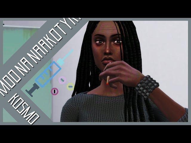 NARKOTYKI w The Sims 4?! - Przegląd modu [BASEMENTAL D*UGS] |THE SIMS 4 PL|