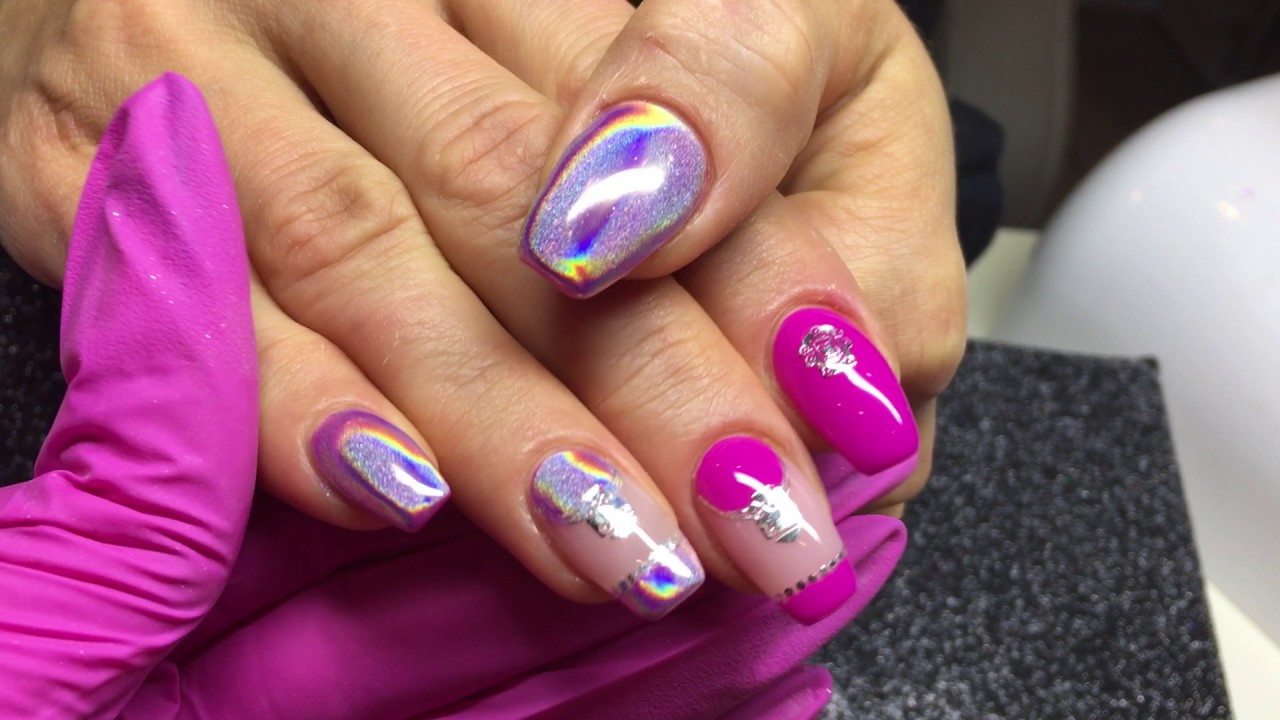 effet holographique ongles magic nails