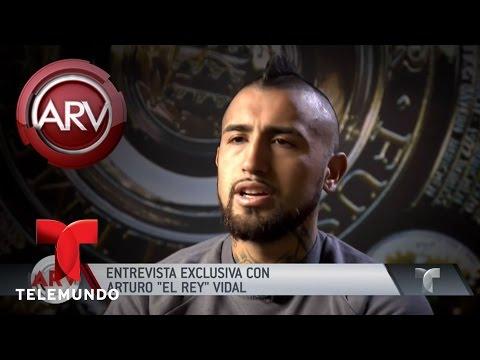 Entrevista exclusiva con Arturo 'El rey' Vidal | Al Rojo Vivo | Telemundo