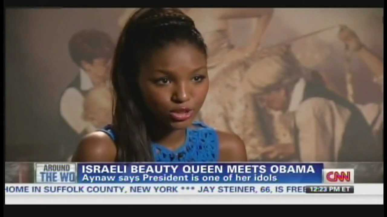 Yityish aynaw obama miss israel titi aynaw meets president obama