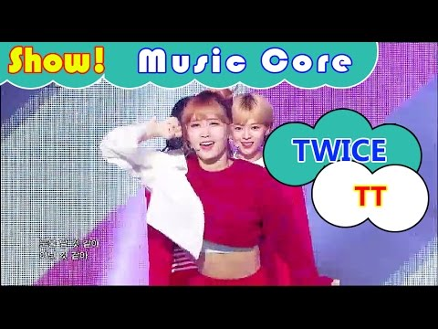 [HOT] TWICE - TT, 트와이스 - 티티 Show Music core 20161105