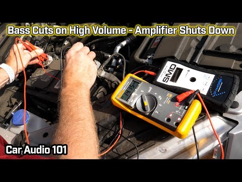 Bass Cuts Out at High Volume - Amp Shuts Down -  Car Audio 101