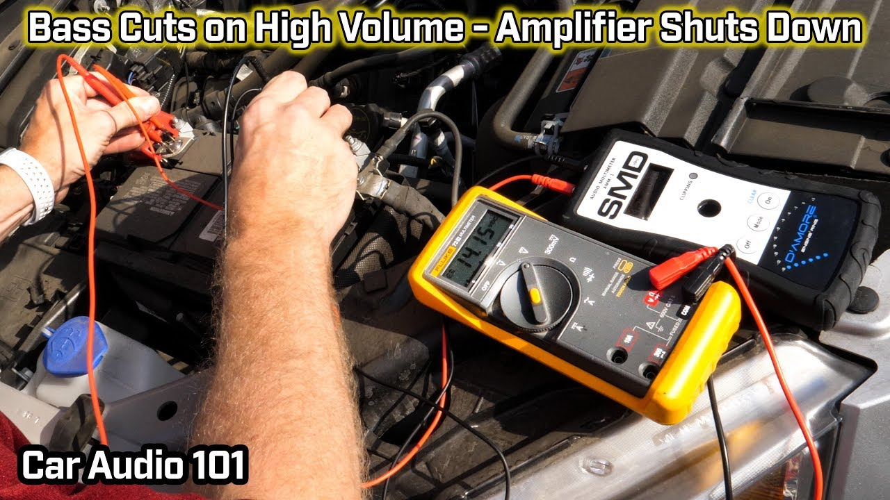 Dual Tbx10a Wiring Diagram Lumbar Vertebrae Bass Cuts Out At High Volume Amp Shuts Down Car Audio 101 Youtube