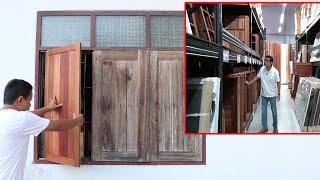 เปลี่ยนบานหน้าต่างเอง+สำรวจHardwarehouse บางนา(ครั้งที่2)