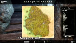 ESO: Greenshade All Skyshard Locations (updated for Tamriel Unlimited)
