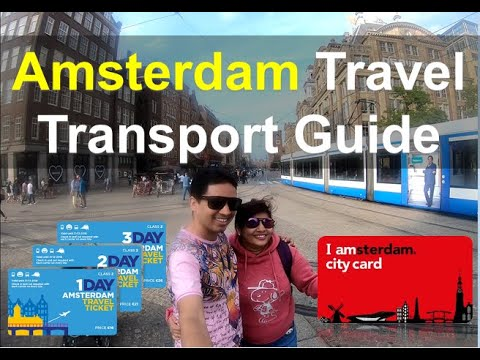 Amsterdam Travel Guide : Public Transport Prices