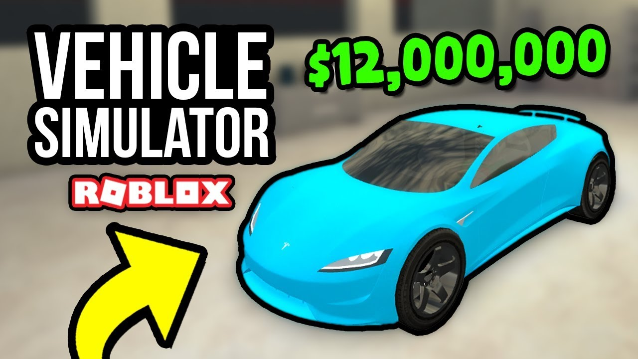 12 000 Tesla Roadster Roblox Vehicle Simulator 31