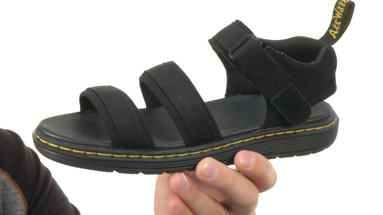 d2d2ab7a2a3dc Dr. Martens Kid s Collection Zachary Tech 3 Strap Sandal (Big Kid ...