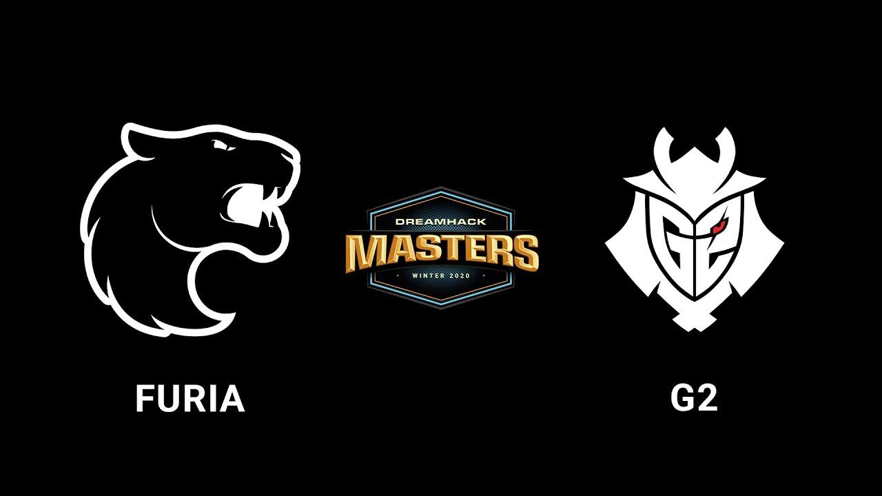 FURIA vs G2 - Inferno - Group B - Europe - DreamHack Masters Winter 2020