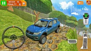 랜드 레인지 로버 SUV 익스트림 드라이빙-4x4 오프로드 스턴트 트랙 미션-Android 게임 플레이