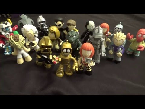 Funko Science Fiction Classics Series 2 Mystery Minis Full Set Review – Not Quite An Unboxing