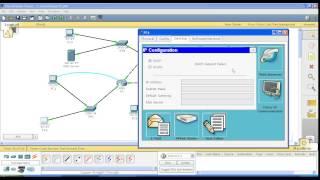 Курс Cisco, Routing and Switching. Шаг 11 Настройка централизованного DHCP сервера