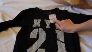 видео Детские размеры одежды UK, английские размеры одежды.