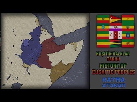 History Of Cushitic Peoples(Ethiopia Somalia Djibouti Eritrea) | Kuşitik Halklar Tarihi