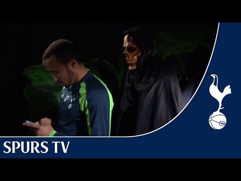 Halloween Prank!   Feat. Walker, Townsend, Defoe, Sandro...