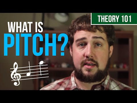 What Exactly Is A Pitch - TWO MINUTE MUSIC THEORY #10