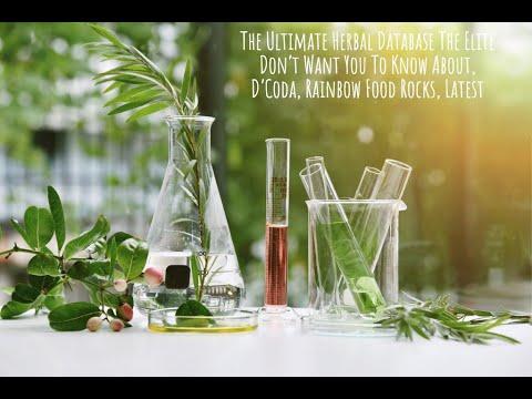 Ultimate Herbal Database, Plasma Water & Quantum Holistics, D'Coda & Rainbow Food Rocks, Latest