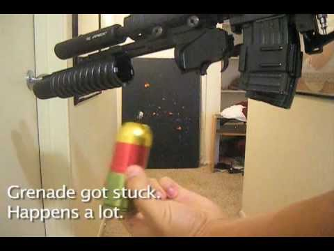 Grenade Launcher Test Fire