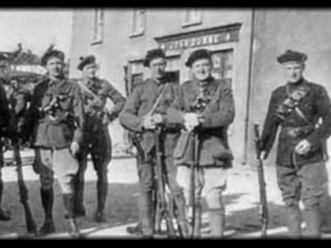 Who were the Black and Tans? (Actual footage of attacks)