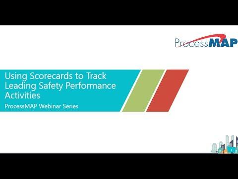 Webinar \u2013 Using Scorecards to Track Leading Safety Performance