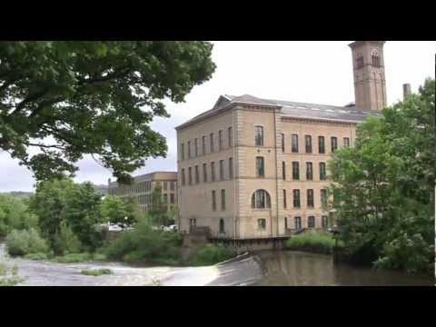 Saltaire, West Yorkshire, UK - 9th June, 2012 (1080 HD)