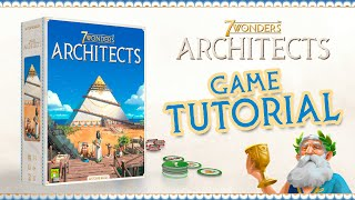 TUTORIAL VIDEO   H๐w to play 7 Wonders Architects in 8 minutes