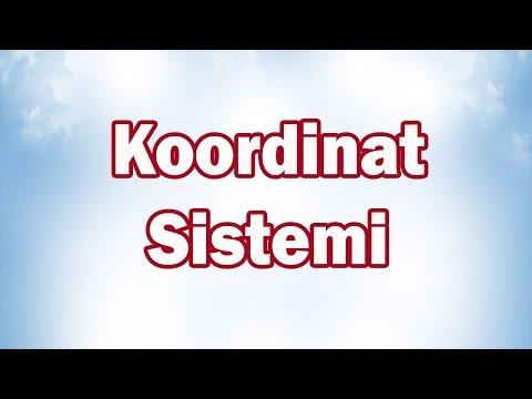 Koordinat Sistemi 7. Sınıf Matematik | CANLI