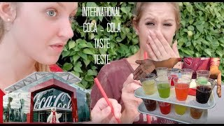 COCA-COLA INTERNATIONAL TASTE TEST WITH MY SISTER!