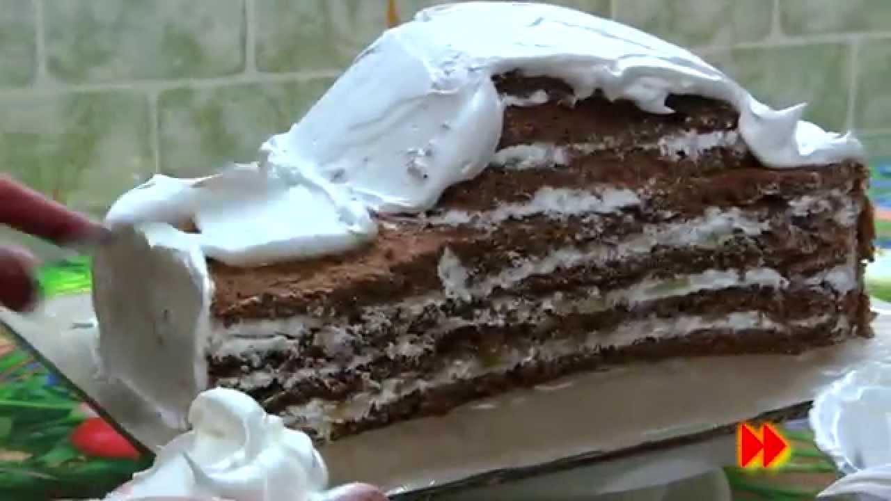 Видео рецепт торта машинка