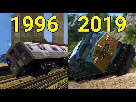 Evolution Of Train Simulator Games 1996-2019