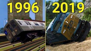 Evolution of Train Simulator Games 1996-2019