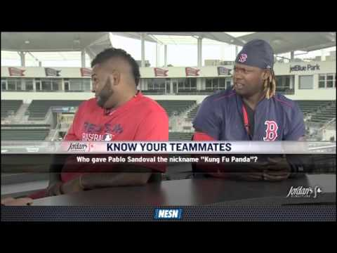Pablo Sandoval Faces Off Against Hanley Ramirez In 'Know Your Teammates'