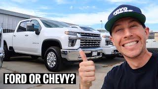 2020 Diesel Truck Shopping!