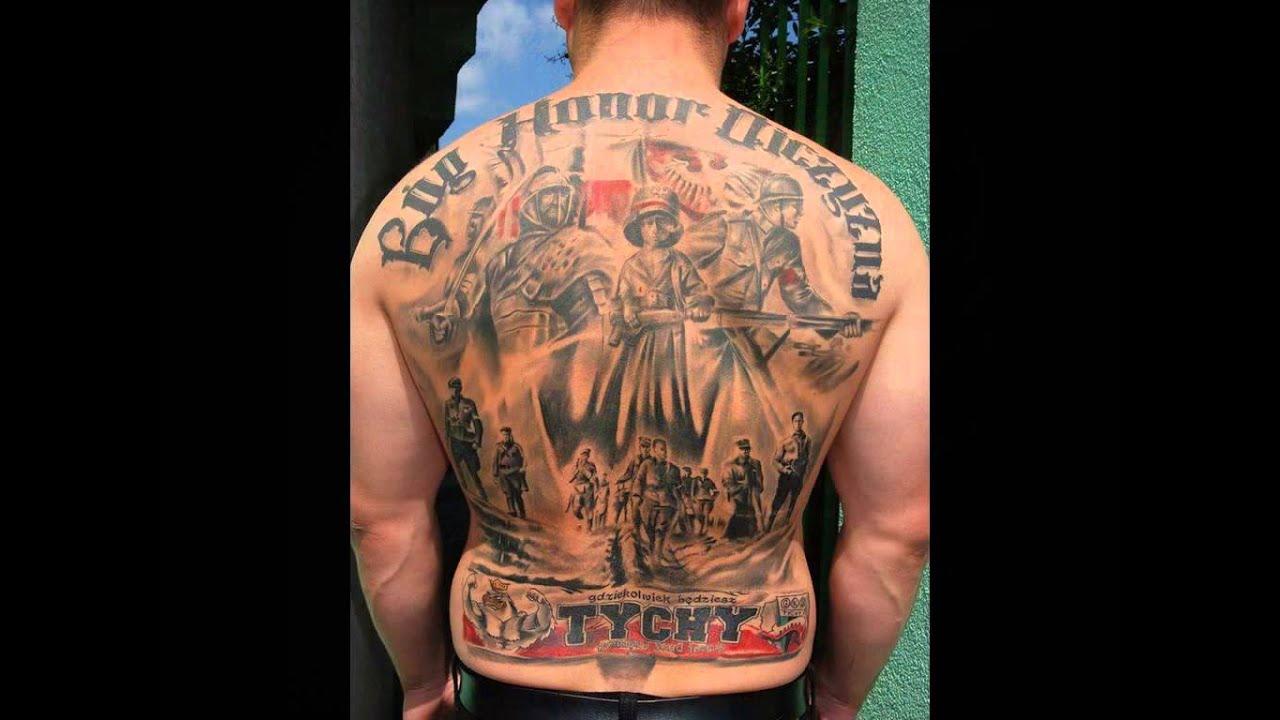 Patriotyczne Tatuaże Dziary
