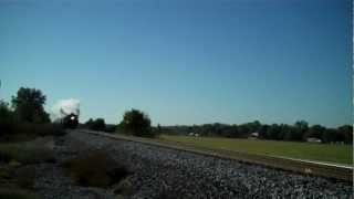 Union Pacific 844 Steam Train - high speed pass (trimmed)