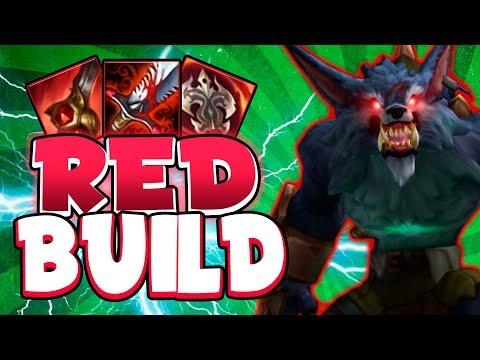 "¡¡LA ""RED BUILD"" de WARWICK!! | IMPARABLE EN PARTIDA (+20KILLS) | LoL | SeVenJungle"