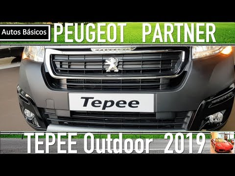 Peugeot Partner 2019 Tepee Outdoor