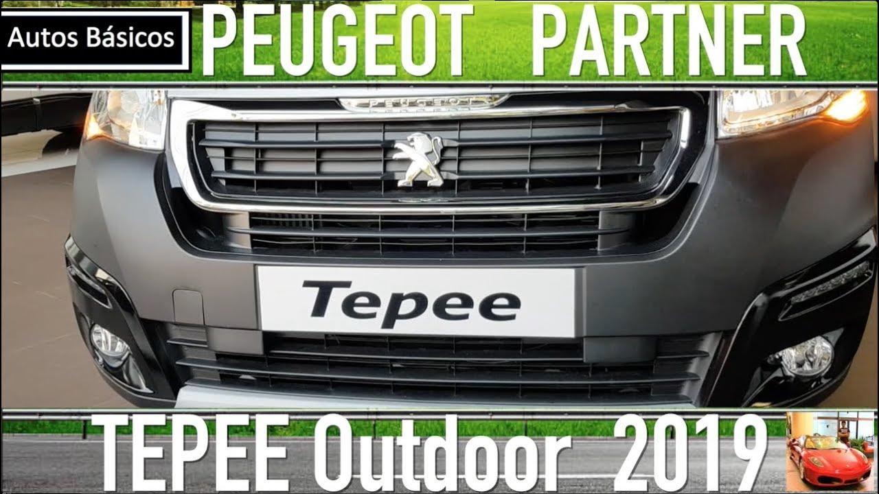 Peugeot Partner 2019 Tepee Outdoor Youtube