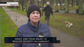What are your ideas to reduce poverty in Canada? | Outburst