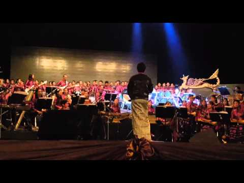 Mixed Myanmar Traditional Orchestra and Western Orchestra by Artist Diramore