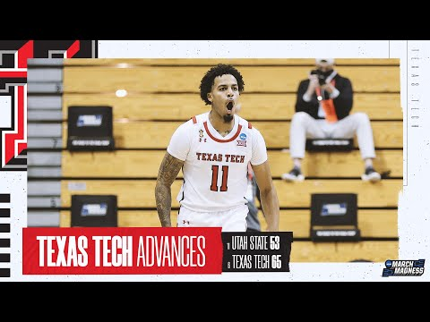 Texas Tech vs. Utah State - First Round NCAA tournament extended highlights