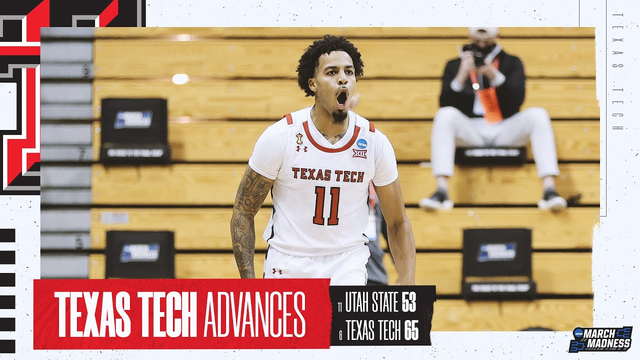 NCAA Utah St Texas Tech Basketball