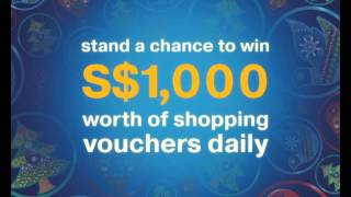 Shop with Visa @ Orchard and Visa Christmas Spree Daily Draw 2012